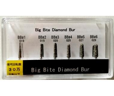 Shavell Big Bite™ Diamond grąžtų rinkinys